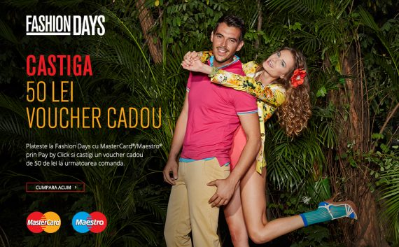 Campanie Fashion Days_MasterCard