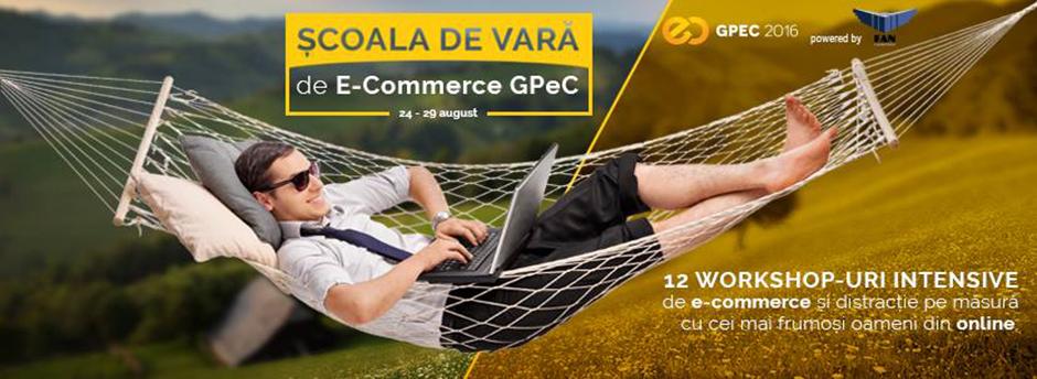 Scoala de Vara GPeC 2016 - e-Commerce pe paine