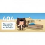10 idei ingenioase de pagini de eroare 404