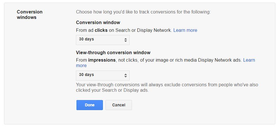 AdWords-Conversion-Window