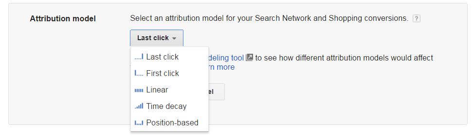 AdWords-Model-Atribuire