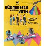 In 2016, romanii au cumparat online de peste 1,8 miliarde €