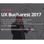 UX Bucharest ajunge la a doua editie, pe 3 – 6 octombrie