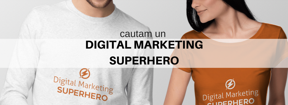 ECOMpedia cauta un Digital Marketing SuperHero
