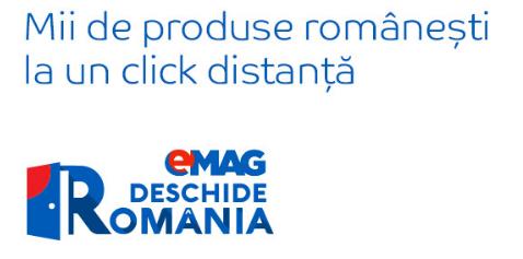 "eMAG sustine micii producatori români – lanseaza programul ""Deschide România"""