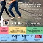 Comunicat: Magazinul SuperJeans sărbătorește 1 an cu un concurs pe Instagram