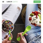 Uber a lansat serviciul Uber Eats in Londra