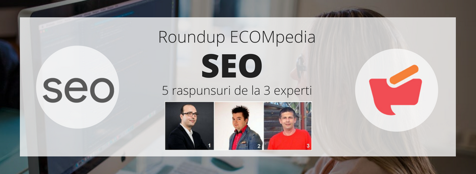 Roundup ECOMpedia: SEO – 5 raspunsuri de la 3 experti (I)