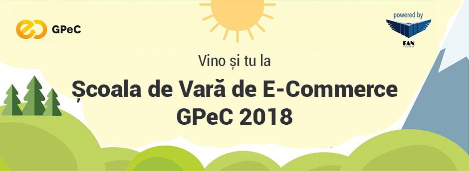 Școala de Vară de E-Commerce GPEC 2018