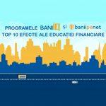 Top 10 efecte ale cursurilor BaniIQ si Banii pe Net (Visa)