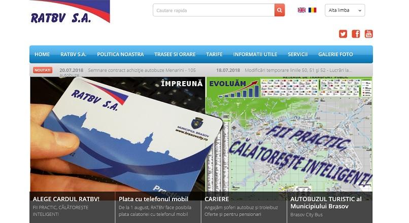 Brasov: s-a lansat plata mobile a transportului public