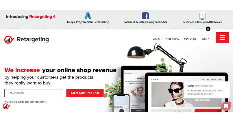 Retargeting.biz ofera magazinelor online integrare completa cu Google, Facebook & Instagram