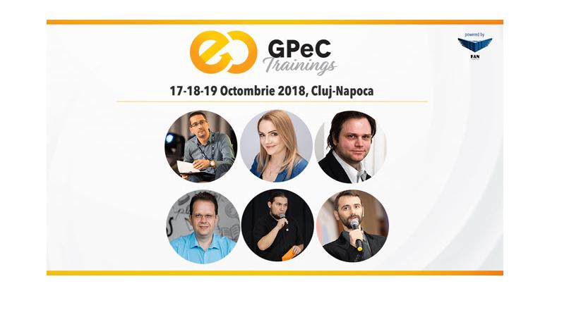Ultima saptamana de oferta Early Bird la GPeC Trainings (Cluj-Napoca, 17 – 19 octombrie 2018)