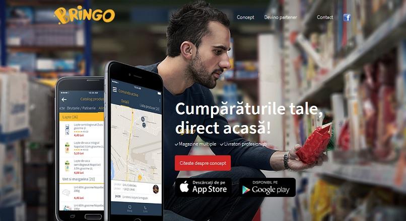 Carrefour a ajuns sa detina 70% din platforma Bringo