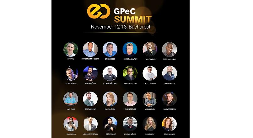 25+ speakeri de nota 10, la GPeC SUMMIT (12-13 noiembrie 2018)
