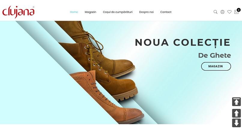 Clujana si-a deschis magazine online