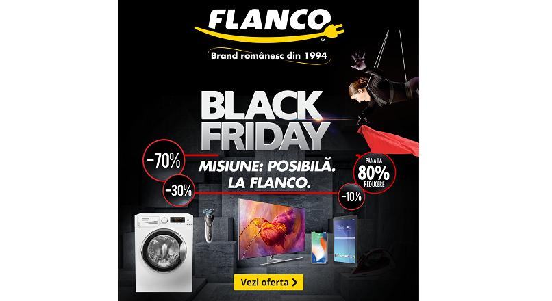 Black Friday 2018: Flanco.ro da start la reduceri pe 26 octombrie