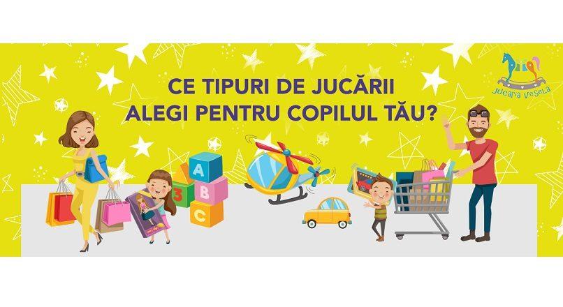 Romania: 25,2% dintre parinti cumpara jucarii online (studiu)