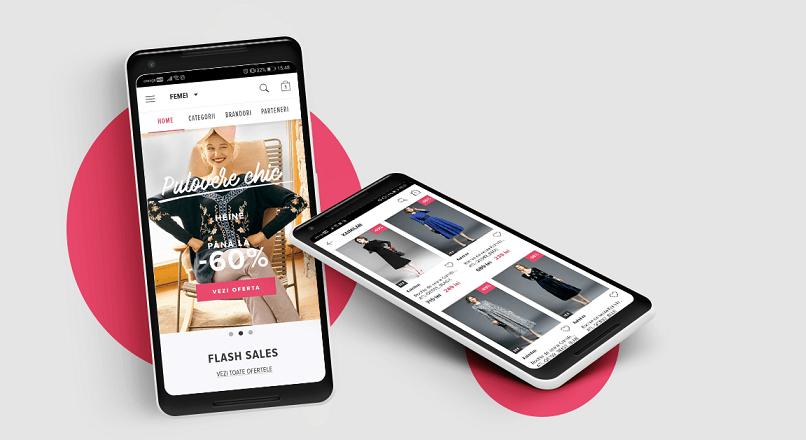 FashionUP! a investit peste 60.000 € in aplicatia mobila