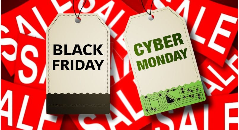 SUA: Black Friday + Cyber Monday = 6,2 + 7,9 miliarde $