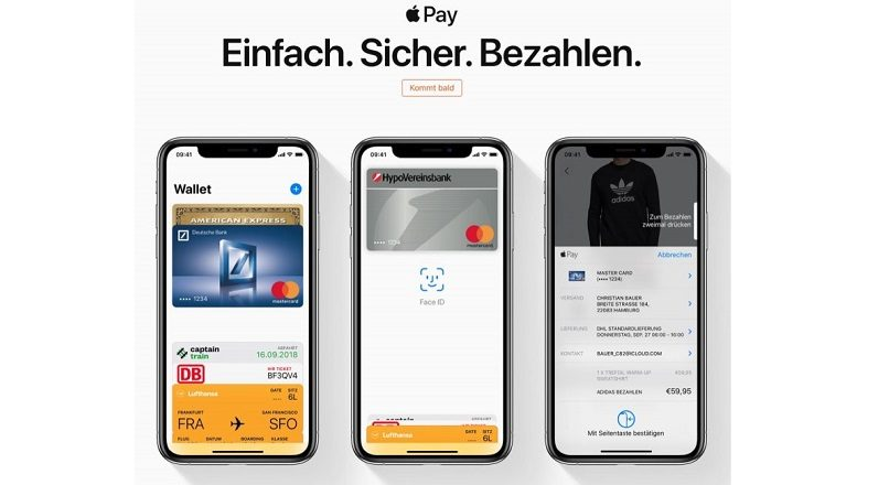 Apple Pay se lanseaza in Germania