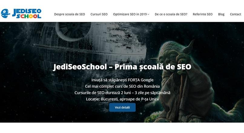 S-a lansat prima scoala de SEO: JediSeoSchool (Bucuresti)