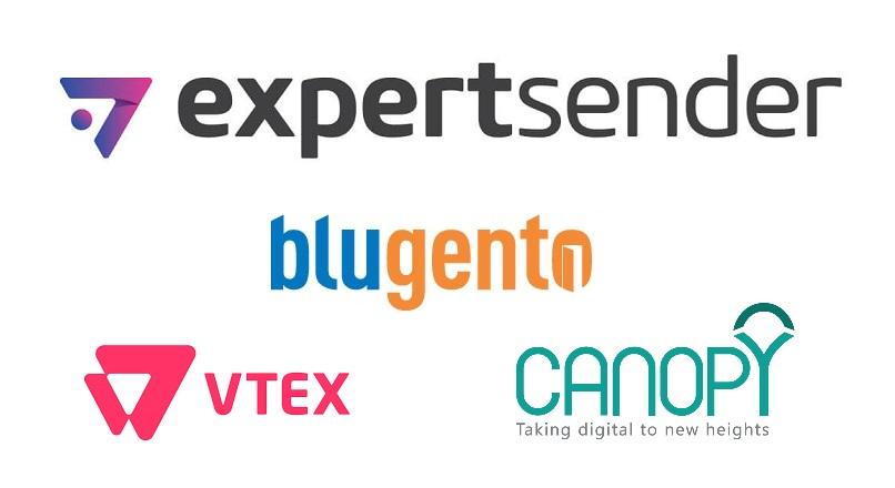 4 noutati e-commerce, de la ExpertSender, Blugento, VTEX si Canopy