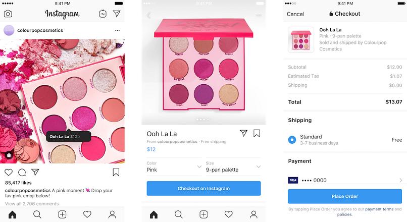 SUA: acum poti cumpara direct de pe Instagram