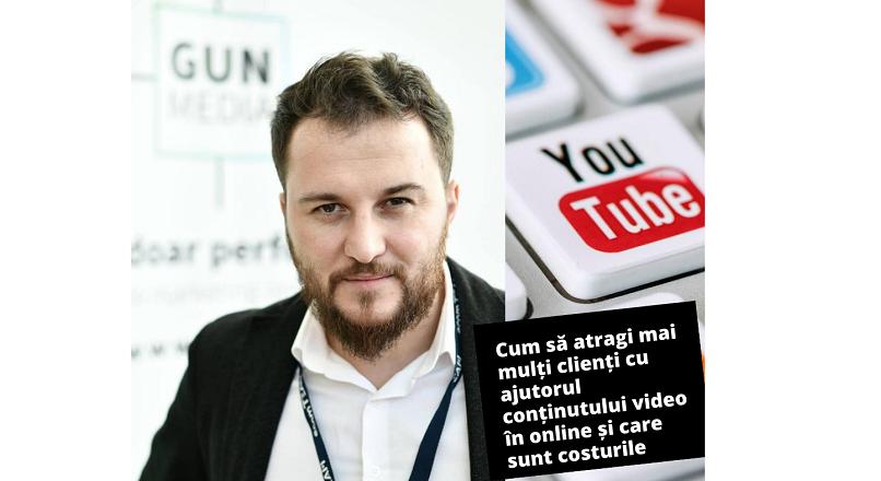 Gun Media: cum atragi mai multi clienti online prin continutul video