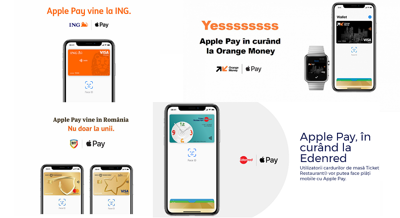 Plata mobile prin Apple Pay vine si in Romania, in 2019