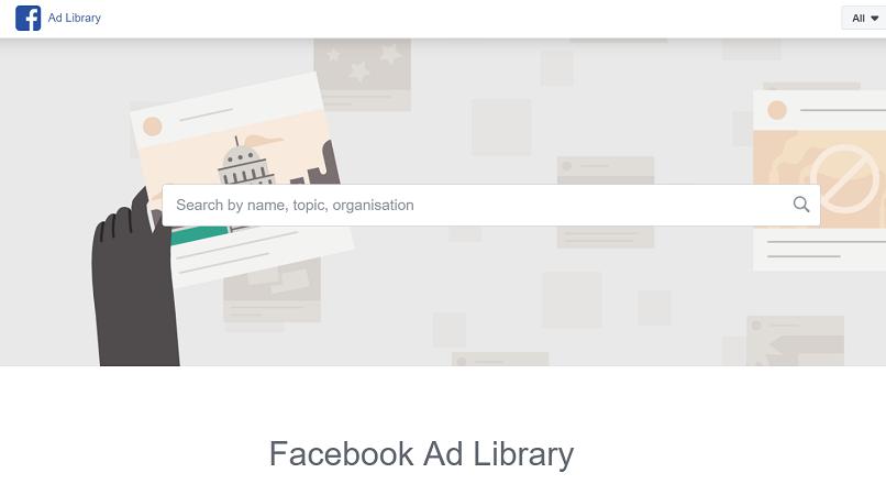 S-a lansat Ad Library, baza de date cu toate reclamele de pe Facebook