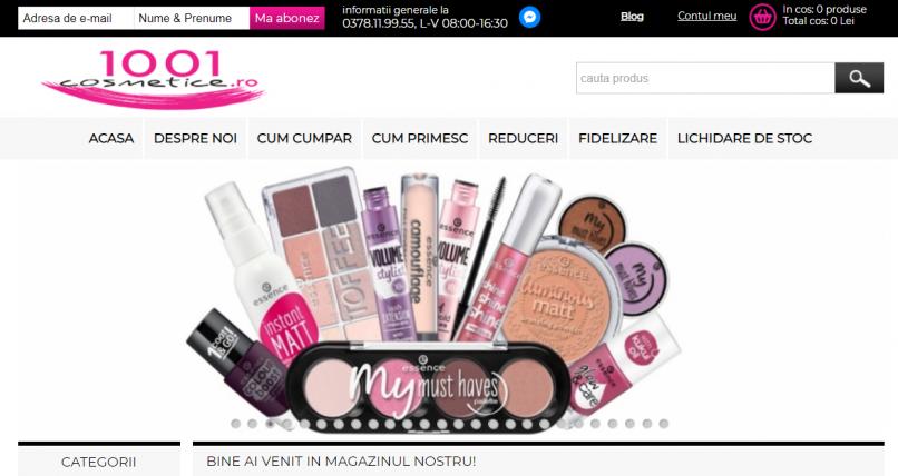1001 Cosmetice parfumuri