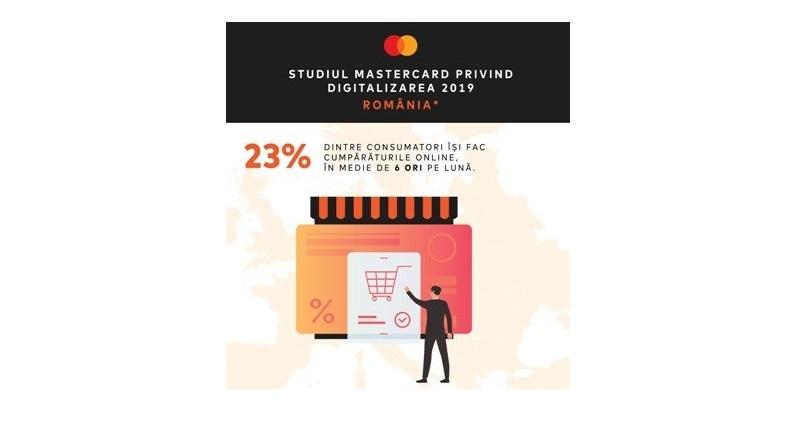23% dintre romani fac cumparaturi online lunar (studiu)