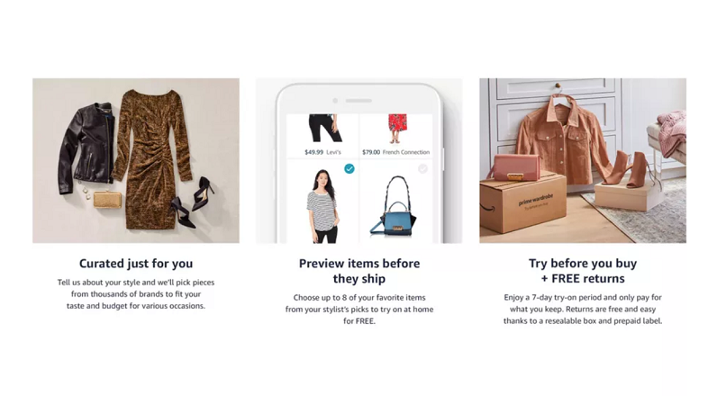 Amazon ofera membrilor Prime o alternativa la Stitch Fix