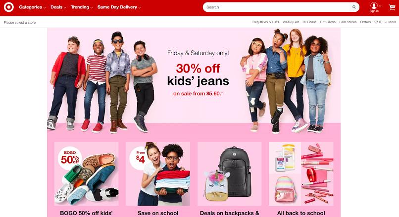 Vanzarile online ale Target, crestere de peste 25%, 5 ani la rand