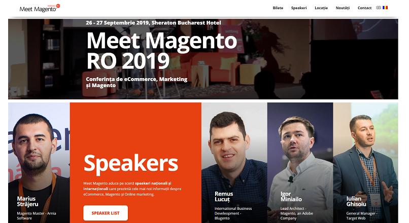 Meet Magento Romania ajunge la editia cu nr. VI (26-27 septembrie, Bucuresti)