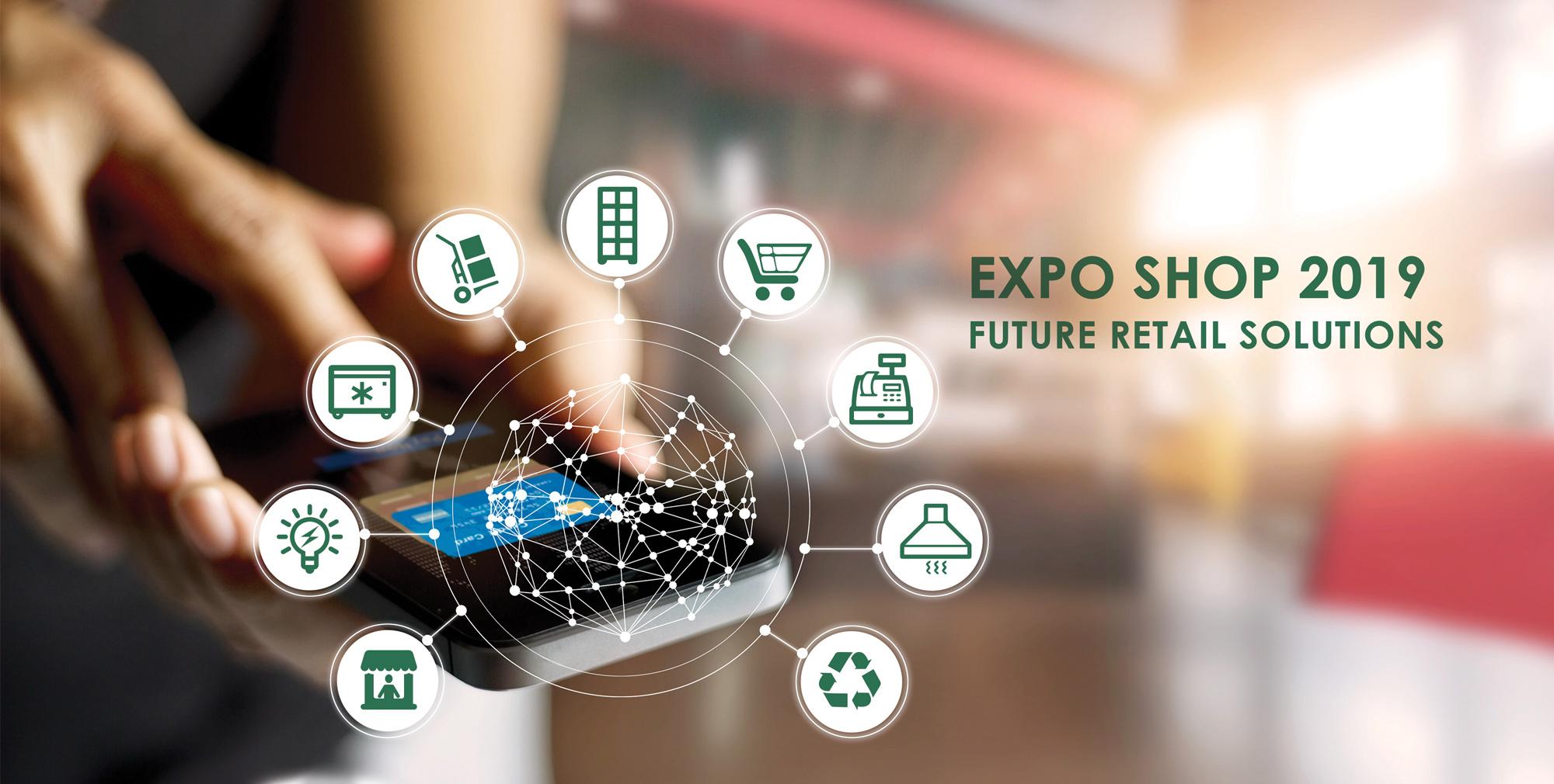 Incepe Expo Shop, evenimentul care iti arata viitorul industriei de retail (9-11 octombrie, Romexpo)