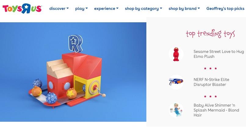 Toys R Us se reinventeaza online (si offline)