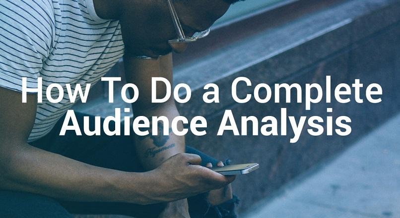 Cum se face o analiza completa a audientei