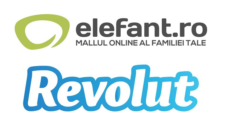 Elefant.ro si Revolut, parteneriat pentru incurajarea cumparaturilor online