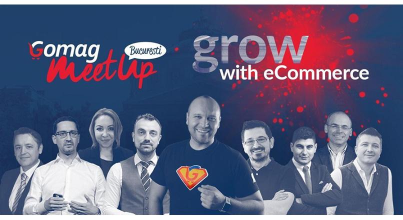 Inscrie-te gratuit la Gomag MeetUp Bucuresti 2020!