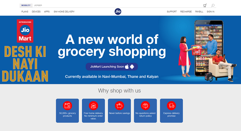 India: cel mai bogat asiatic a lansat o platforma de shopping online