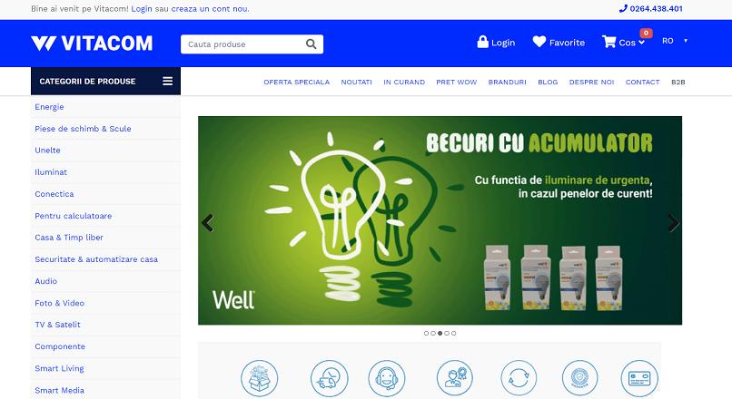 Vitacom.ro: cu 16% mai multe comenzi online, in 2019