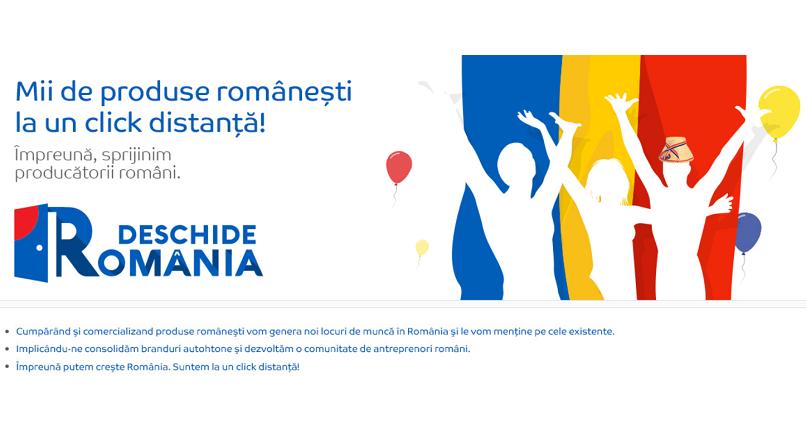 "Programul eMAG ""Deschide Romania"" a atras peste 2.000 de producatori"