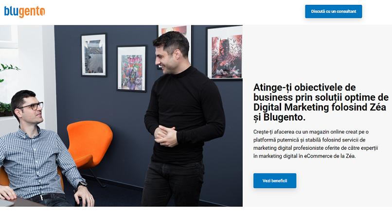 Blugento lanseaza Zea, agentie de marketing pentru e-shop-urile partenere