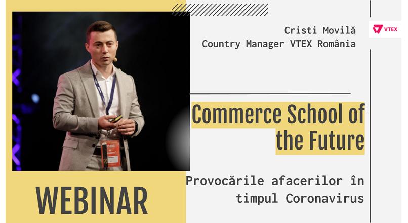 Cristi Movila (VTEX): cea mai mare provocare a comertului online – adaptarea la noul context
