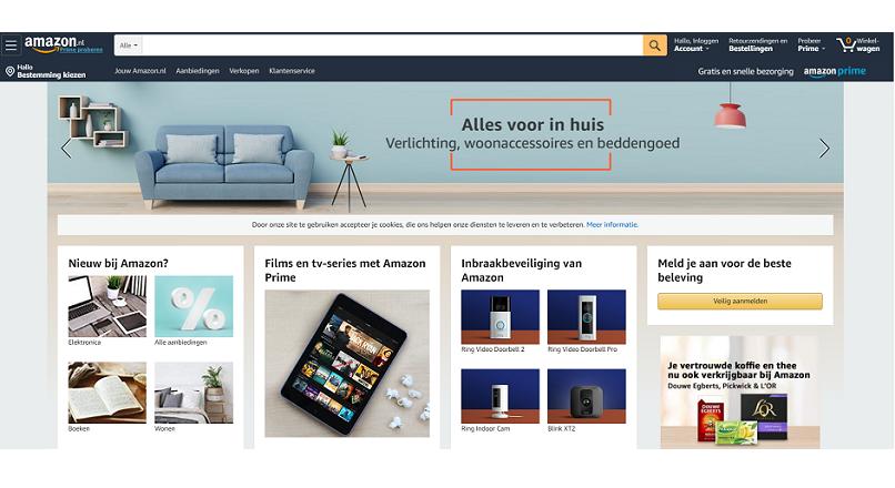 S-a lansat Amazon Olanda (Tarile de Jos)
