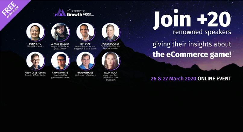 eCommerce Growth Summit: peste 25 de speakeri de renume, pe 26-27 martie, la Bucuresti