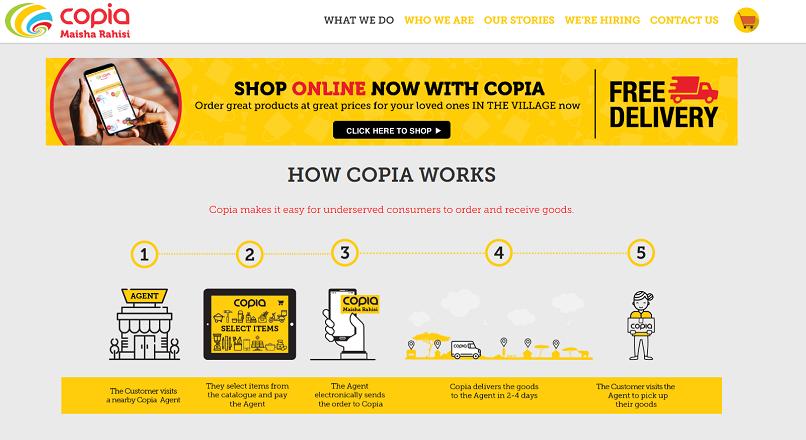 Africa: livrarea gratuita popularizeaza comertul online